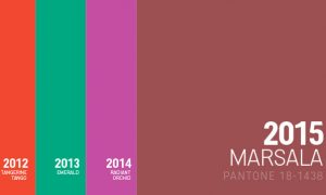 marsala-pantone colour of the year
