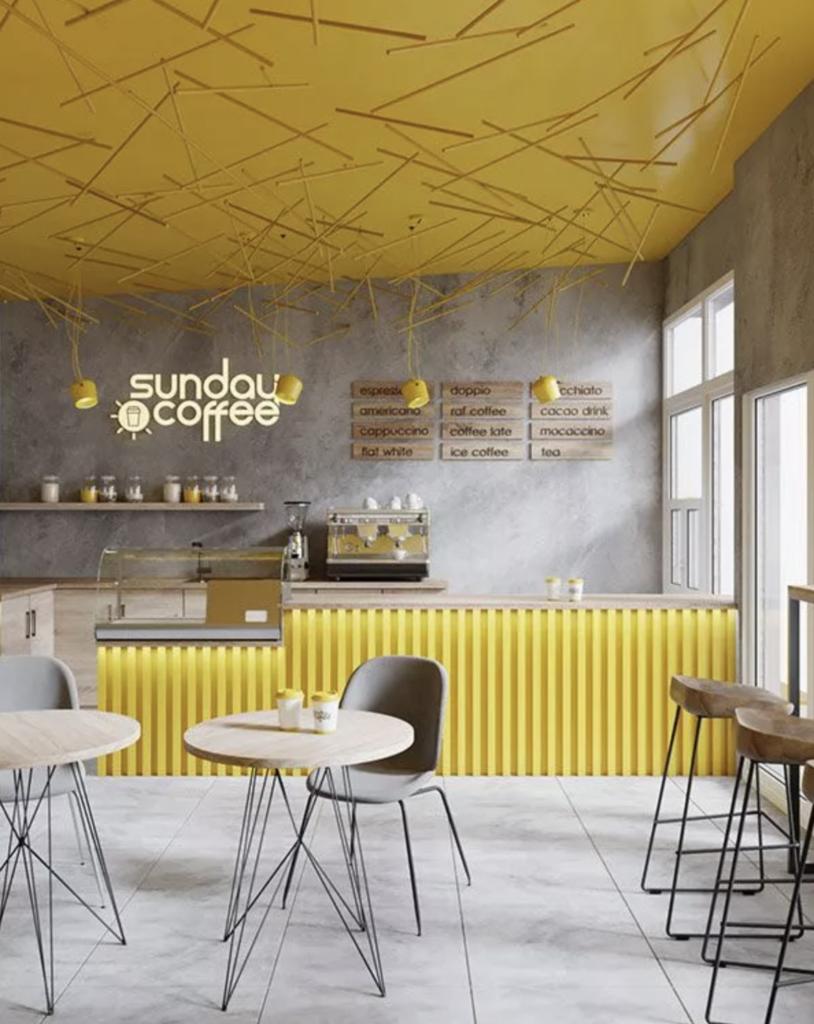 PANTONE 2021 CAFE FITOUT